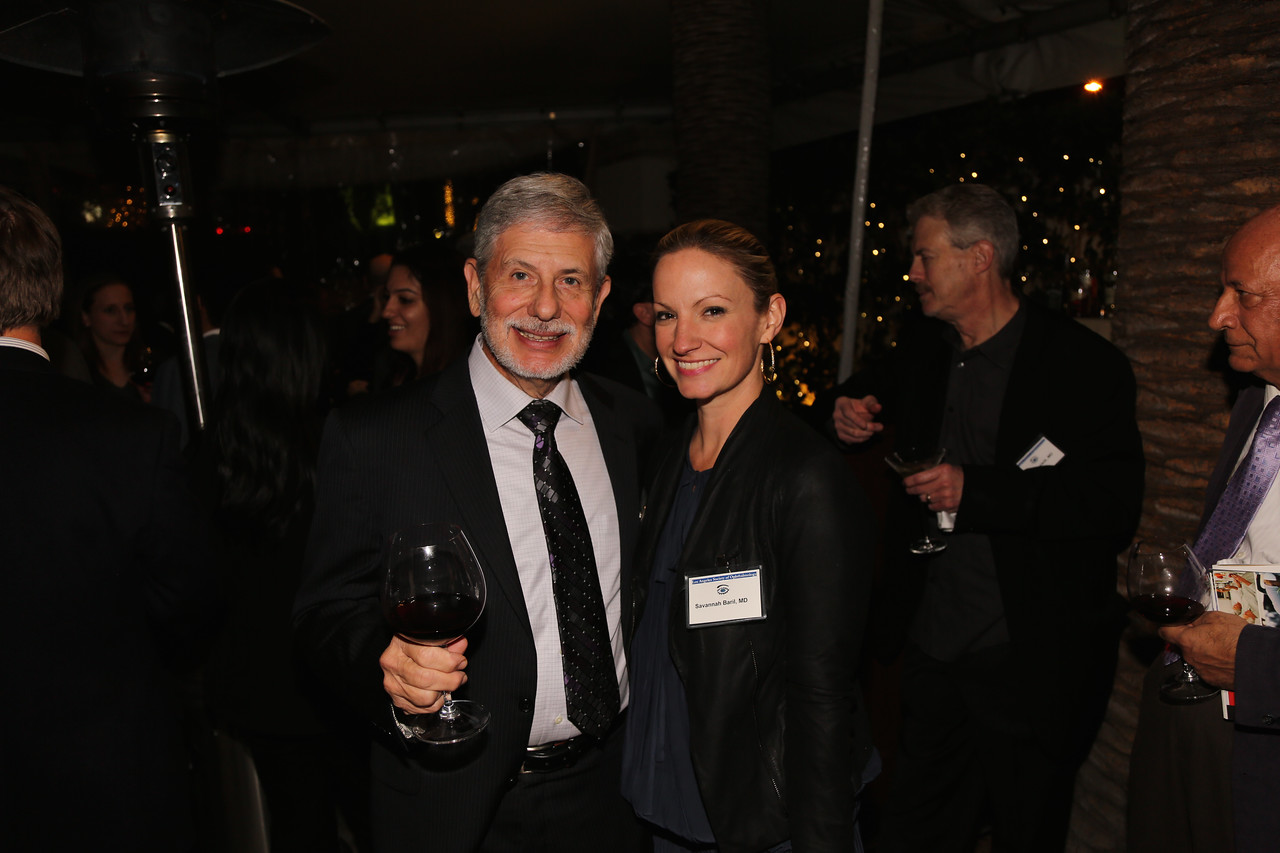 Alan Mandelberg and Savannah Baril