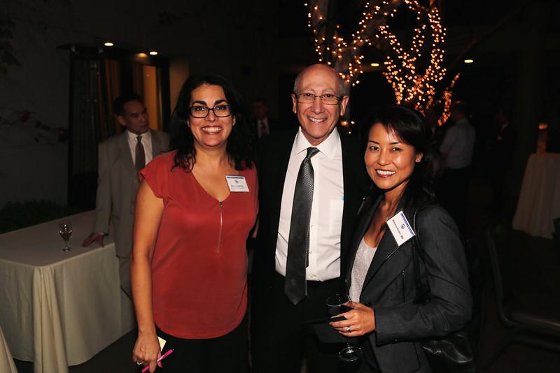 Maria Gutierrez, Don Schwartz and Bibiana Reiser