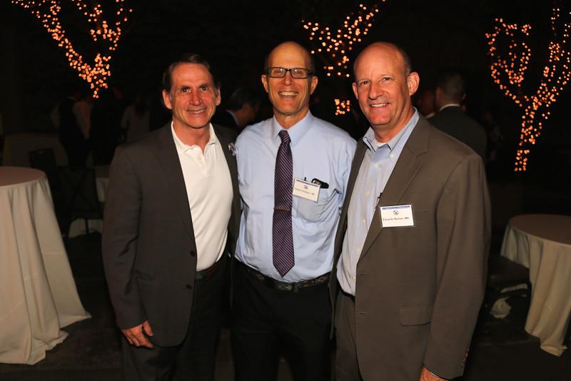 Congressional Candidate Ken Wright, Herb Goldman, Eduardo Besser