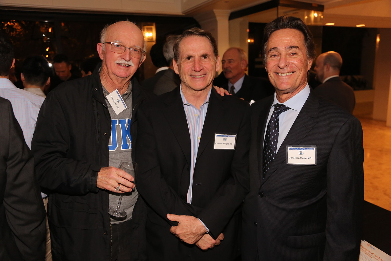 Jim Salz, Ken Wright, Jonathan Macy  (Ken running for Congress, District 33)