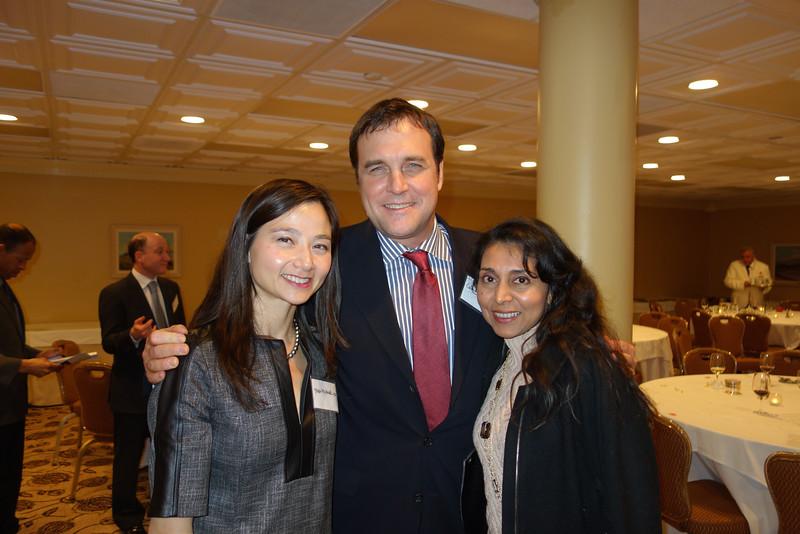 Tara and Colin McCannel with Alpa Patel<br /> DSC02490