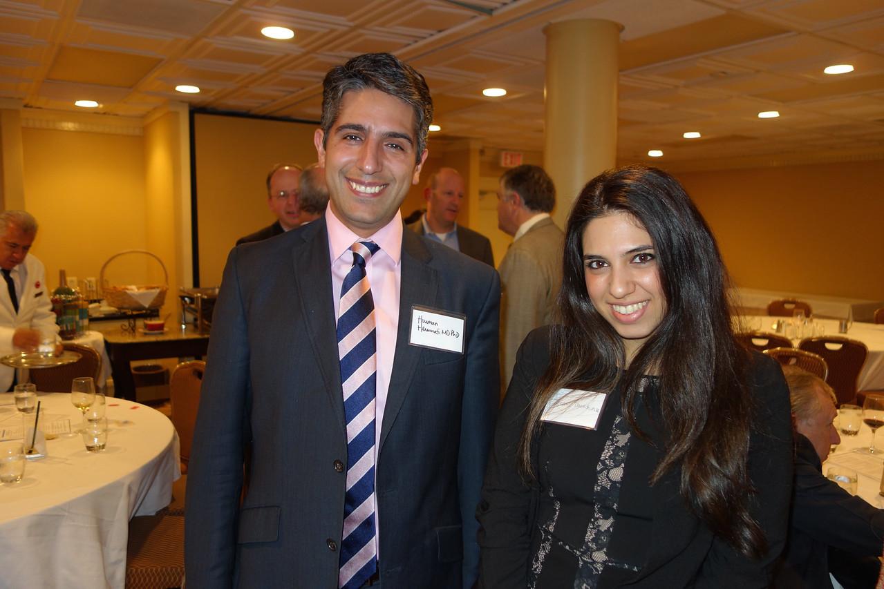Houman Hemmati and Jennifer Danesh<br /> DSC02486