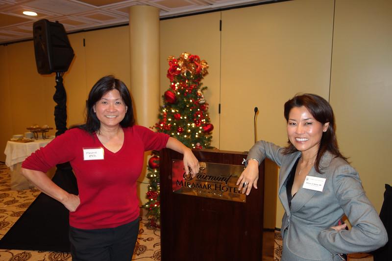Melanie Erb and Bibiana Jin Reiser<br /> DSC02484