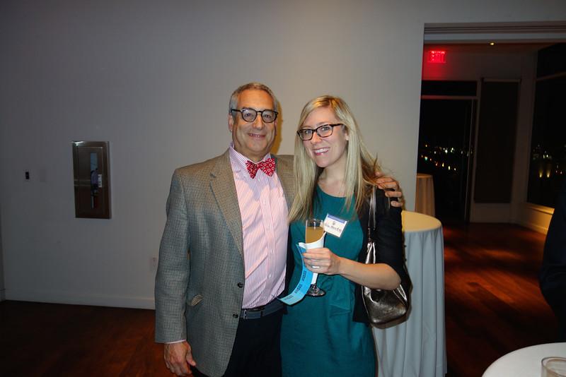 Steve Dresner and Oculoplastics Fellow, Helen Merritt<br /> DSC03281 - 2015-12-04 at 18-47-18