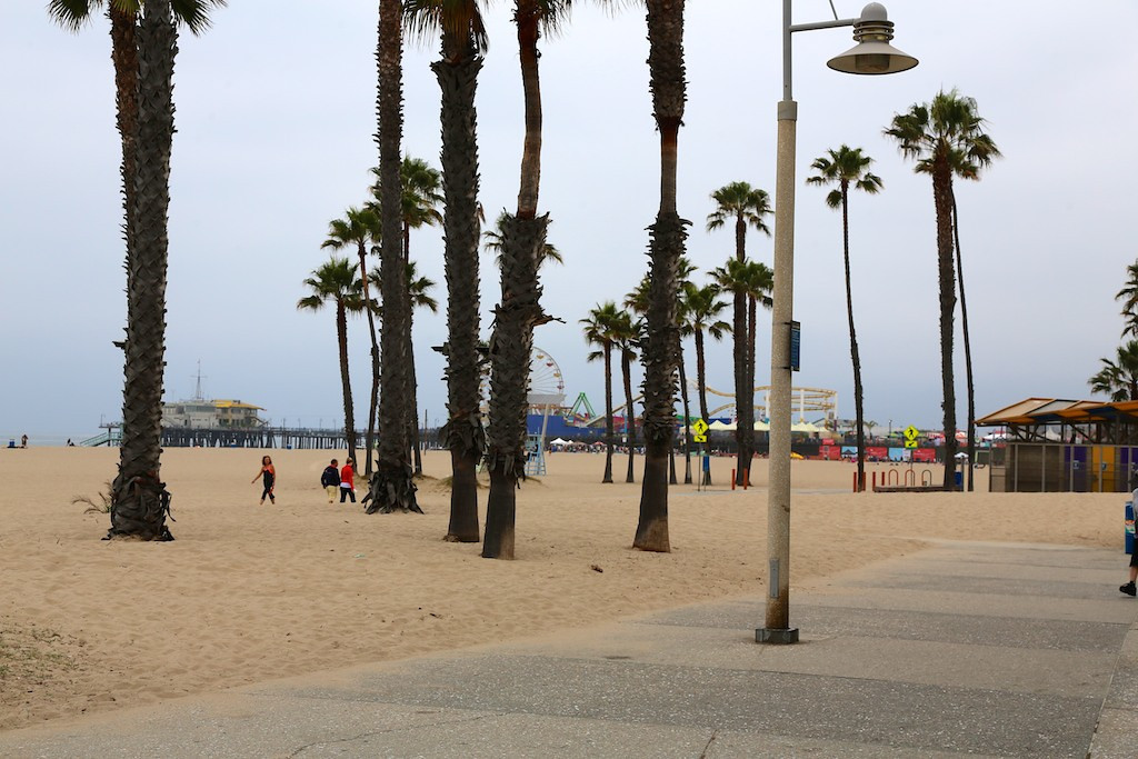 View of Santa Monica Pier from meeting site, Shutters on the Beach<br /> EN8A7660