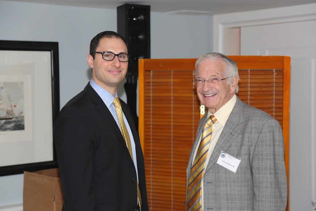USC Resident Lloyd Cuzzo and Tony Nesburn<br /> EN8A7700