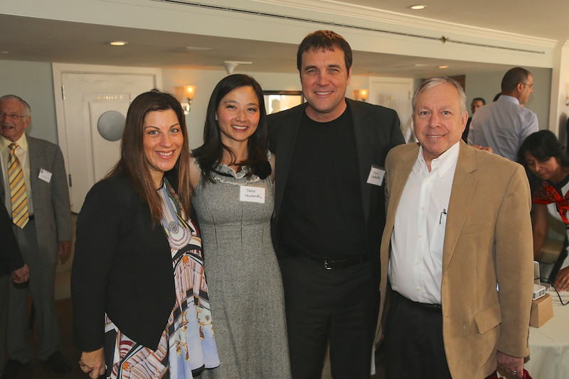 Incoming Program Chair Nicole Fram, Tara & Colin McCannel, and Ken Hoffer<br /> EN8A7694