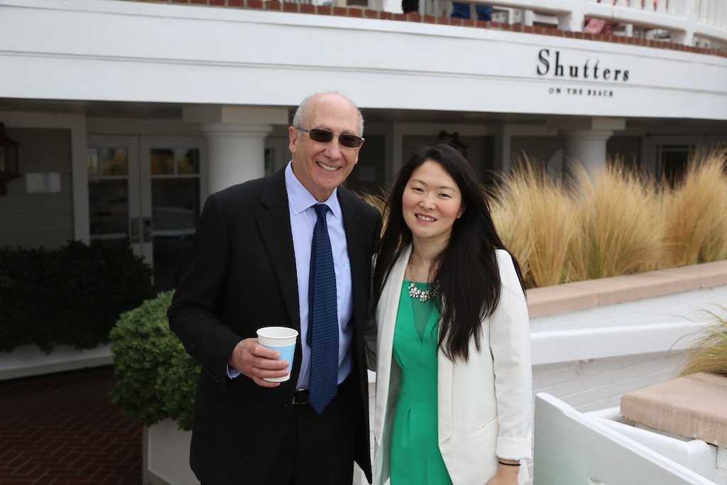 Don Schwartz and Catherine Hwang<br /> EN8A7664