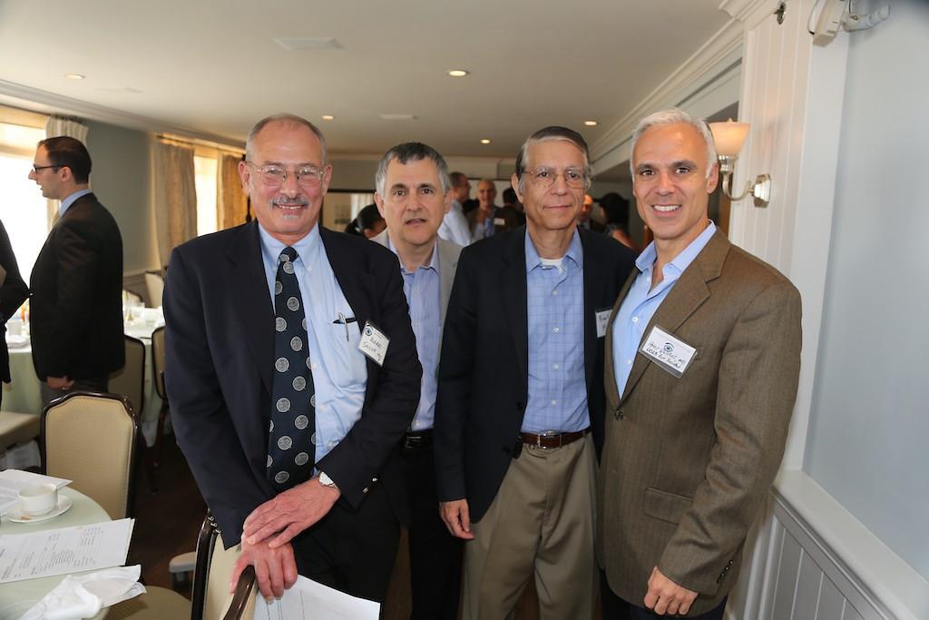 Al Solish, David Fuerst, Bart Mondino, Peter Quiros<br /> EN8A7705