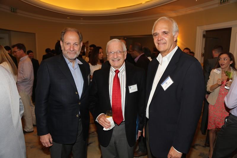 David Boyer, Tony Nesburn, John Irvine