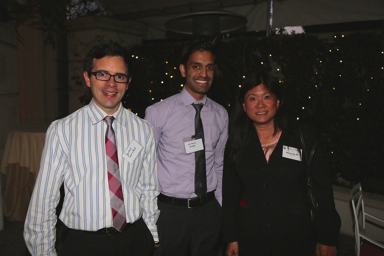 James Sanchez, Anthony Joseph, Melanie Erb