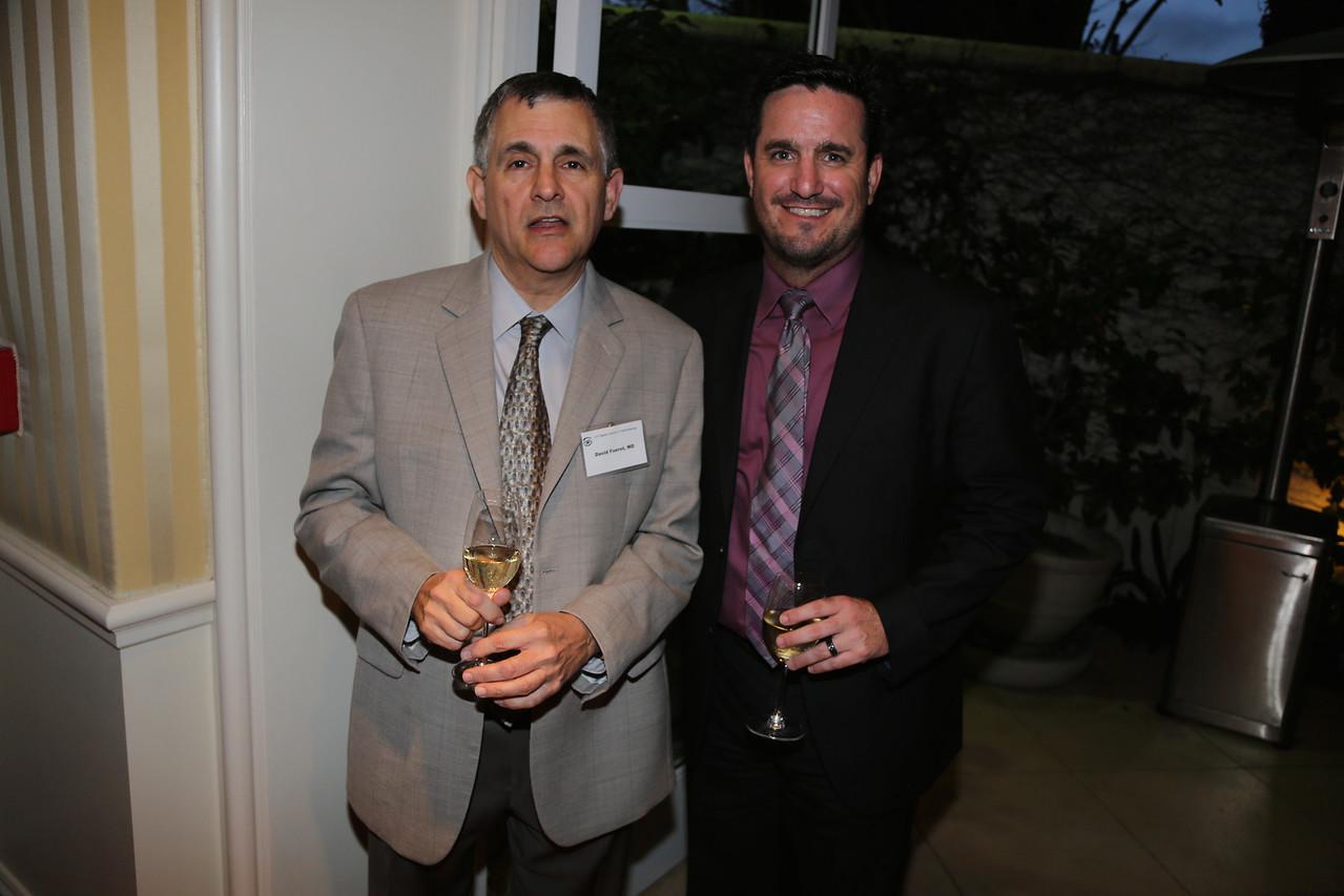 David Fuerst and Brett Braun (CEO of Tom Chang's Retina Institute)