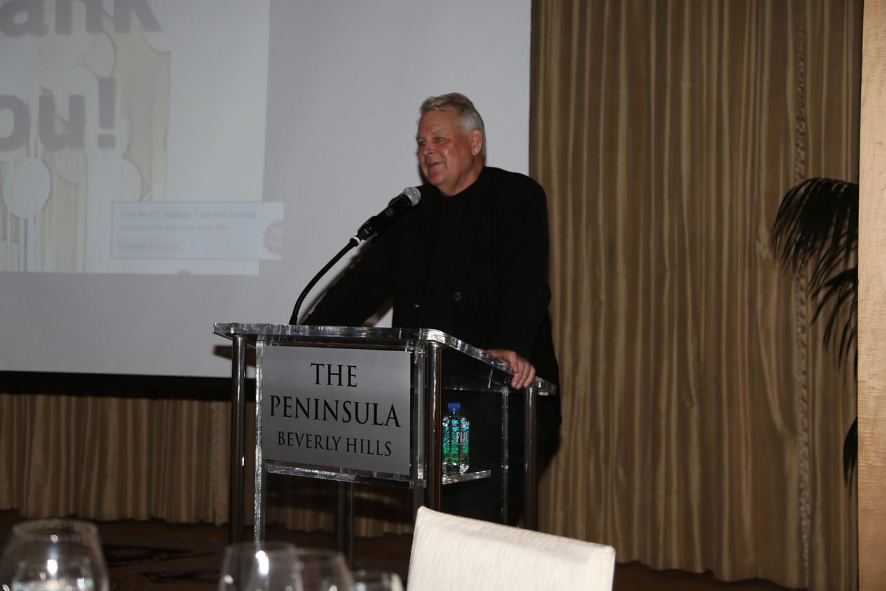 Guest speaker, Richard Lindstrom from Minneapolis