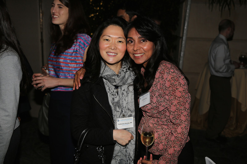 Program Chair Catherine Hwang and President Alpa Patel