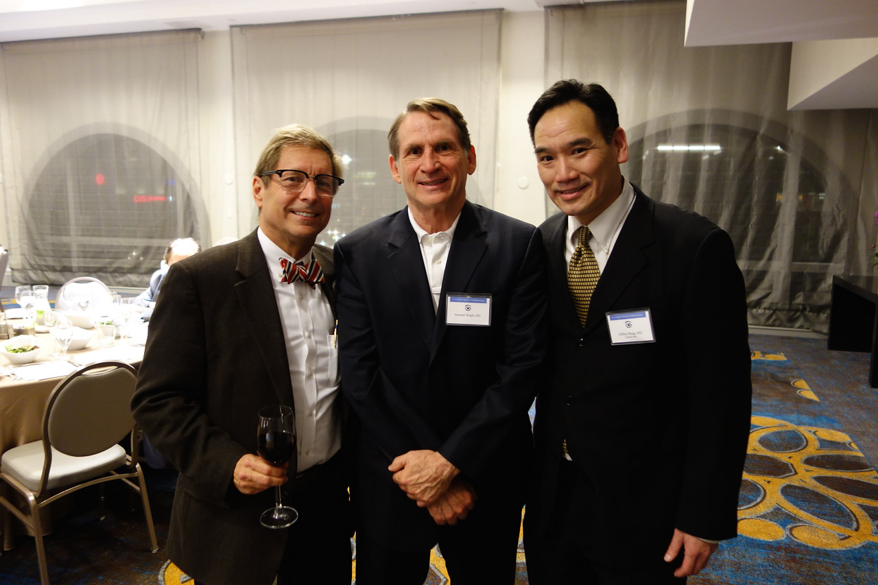 Kent Small, Ken Wright, Program Chair Jeffrey Hong<br /> LA Society