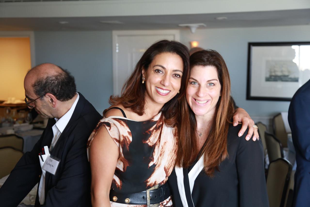 Neda Shamie and Program Chair Nicole Fram<br /> 2015-05-30 at 11-57-31