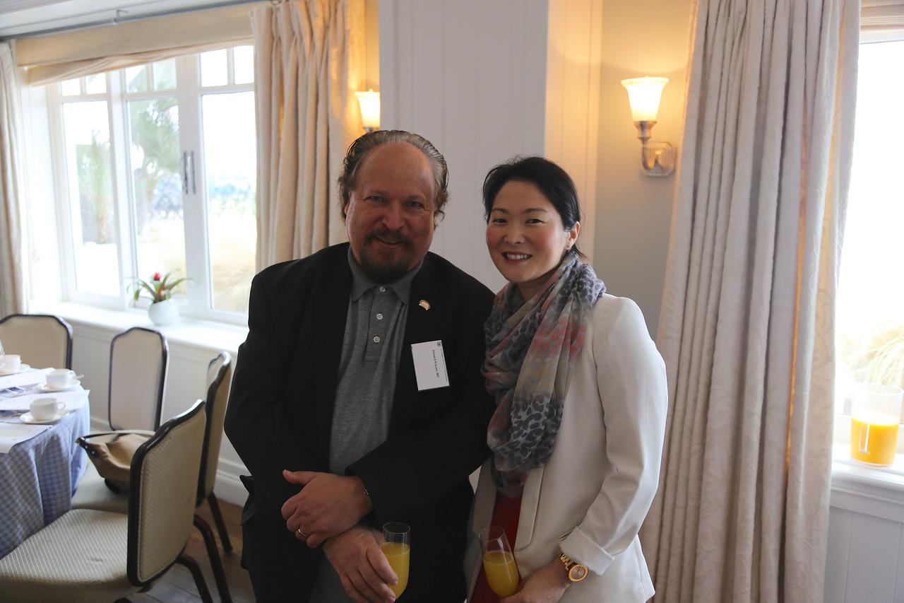 Howard Krauss and Catherine Hwang