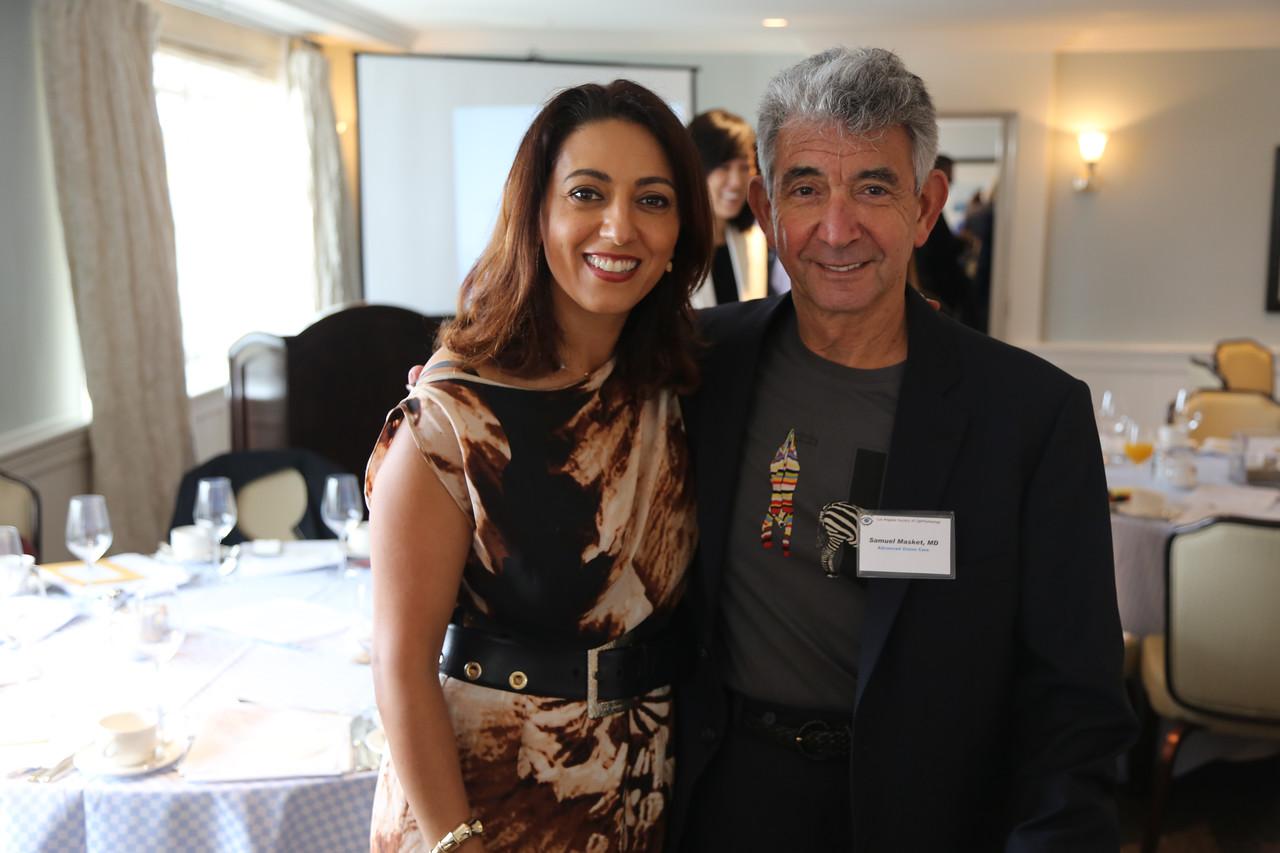 President Neda Shamie and Sam Masket<br /> 2015-05-30 at 09-21-08
