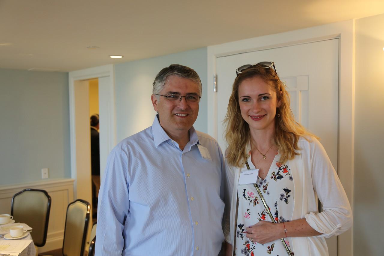 Paul Urrea and Alena Reznik