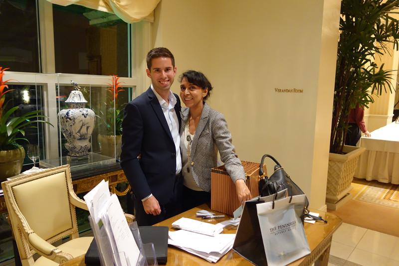 Society Coordinator Justin and Alpa Patel<br /> DSC02387