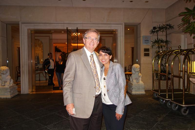 Jim Boyce and Alpa Patel<br /> DSC02392