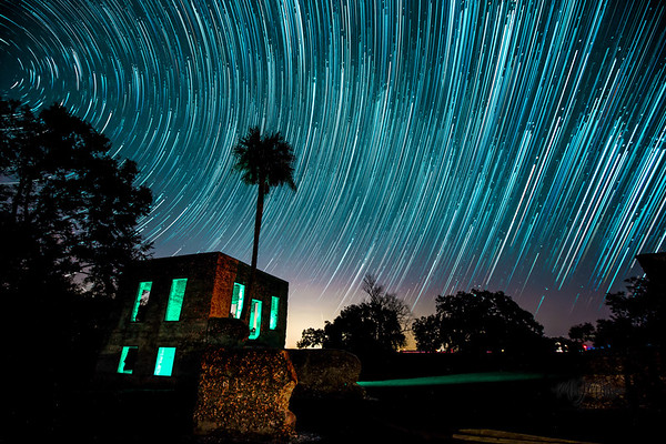 Tabby Ruins Star Trails