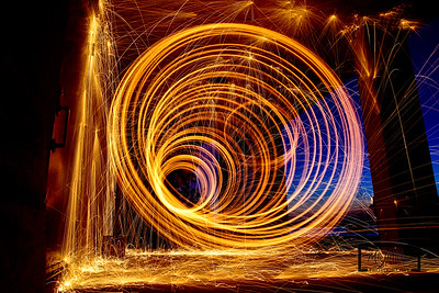 Steel Wool Vortex