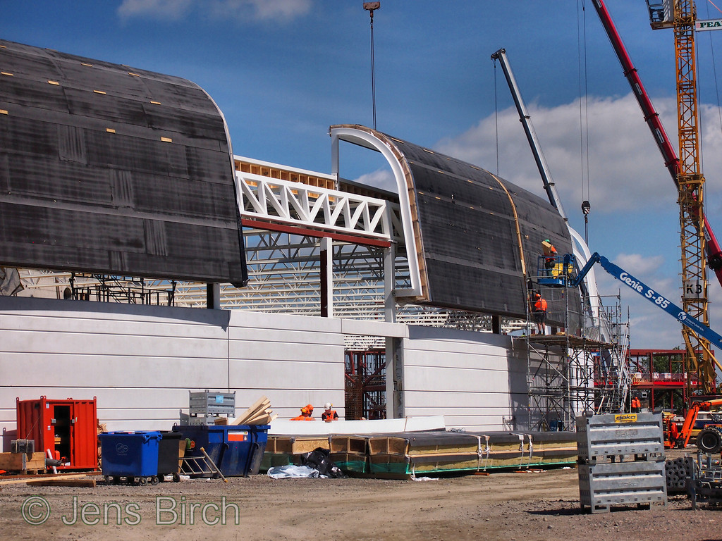 Roofing of the 3 GeV ring at MAX IV. June 17, 2013