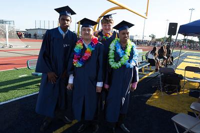 Special Needs Graduating Kids: Christopher Mosles, Alboa Nguyen, Josh Redroth, Rami Al Hubayri