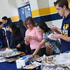 Parent & School Volunteers helping out with the refreshments.