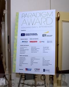 2016 Paradigm Award Honoring Emily Bittenbender