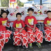 (L-> R): Douglas Lo, Alexis Manens, Timothy Lo & Benjamin Manens - students of the Taiwanese American Center Of Northen California waiting for their performance.