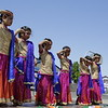 Girls dacning for the Indian Tune of Vande Mataram.