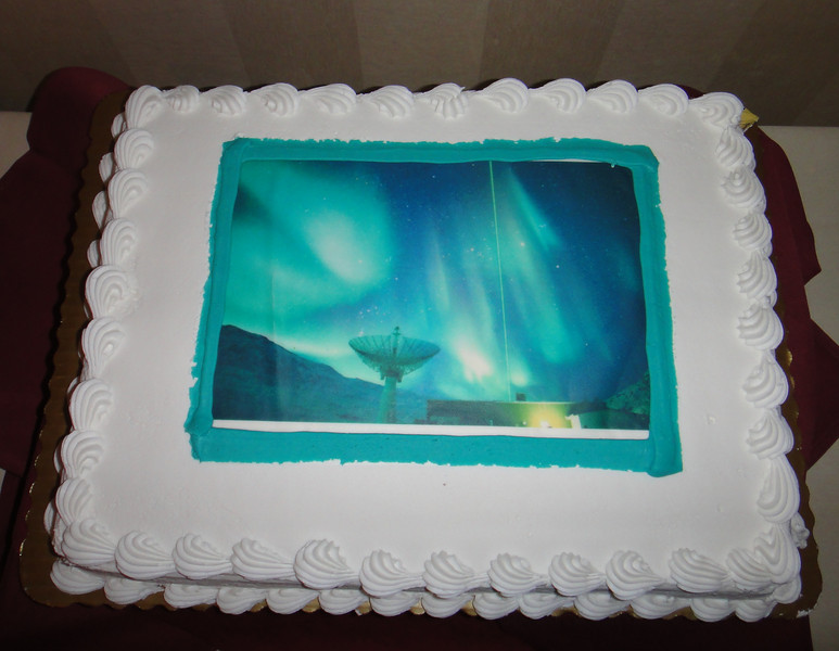 Let us eat cake...with aurora...