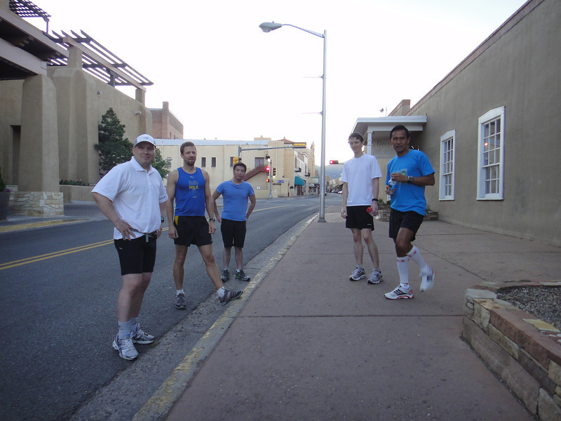 Starting group for the dawn patrol. 2012-06-25