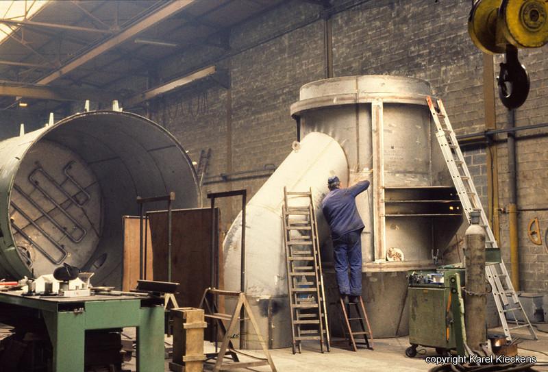 AGC 07 Buisverbinding voor atoomcentrale (1988)