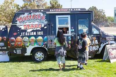 Mustache Mikes Italian Ice Truck