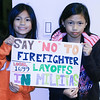 Firefighter Supports; The sisters drew this to show support to the Firefighters community. (L->R): Naomi Lacuzong, Neriana Lacuzong.<br /> nlacuzong@yahoo.com