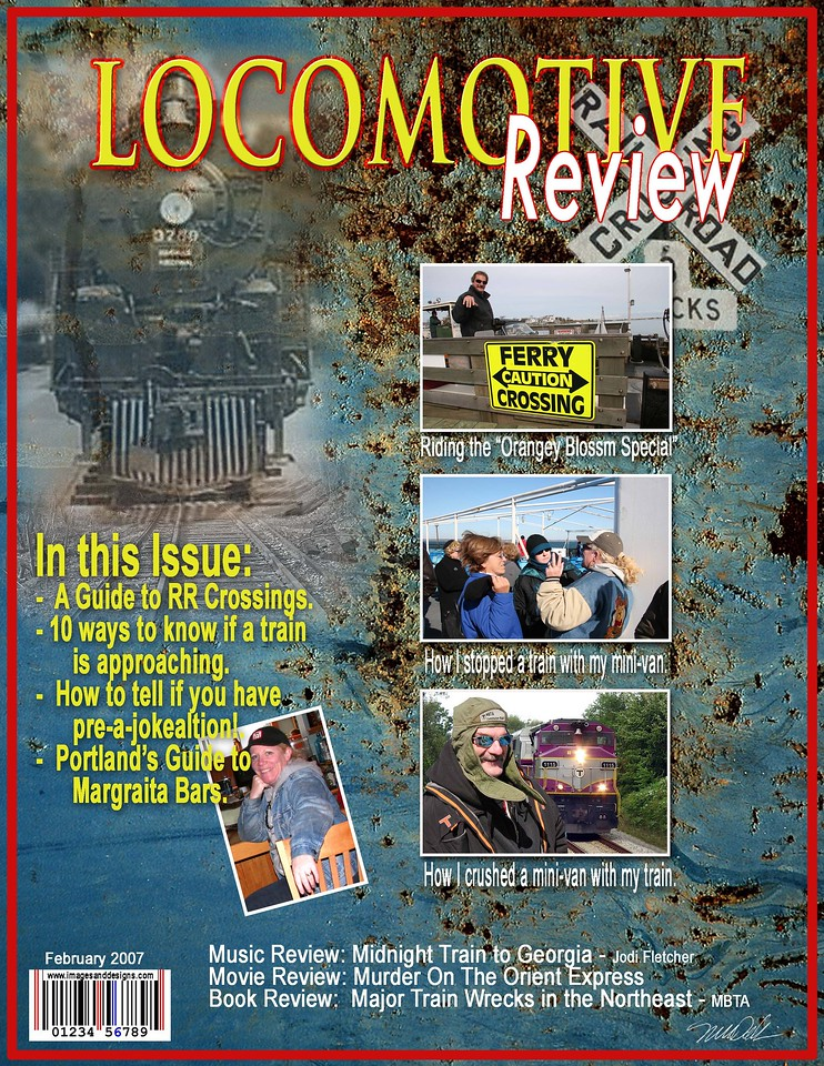 """Mock Magazine Cover Sample -- Special Order 81/2"""" x 11""""<br /> Makes great gifts, gags and awards!<br /> Designed with your supplied images<br /> Please contact me directly for pricing<br /> mdallaire1@comcast.net"""