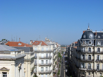 Panorama--from the top of L'arc de Triomphe, left to right, #3