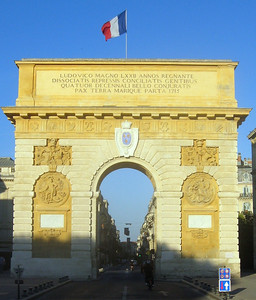 Montpellier's L'arc de Triomphe