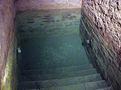 An amazing find--a 13th century mikva (Jewish ritual bath), one of the best preserved in Europe