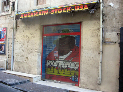Strolling Montpellier ... an image of America!