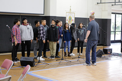 "Milpitas Glee Club singing ""You The One That I Want"" from Greece. Dan Mcquigg - Director Of the Glee Club."