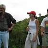 Michael Titterton, Gwen Palagi and Harvey Cohen, site visit in 2005