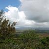 The view to Mt Kahili and Waialeale
