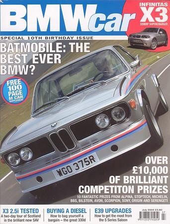 BMW Car - July 2004