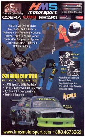 HMS Ad - Various Magazines