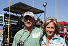 Hosted by WelchGas of Naples, Bud McCollum of Scott Redfearn, Inc. of Mt. Pleasant along with Connie Alsup walk the track at Texas Motor Speedway.