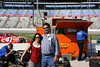 TPEMF representative, Jackie Richards of Austin and Tom Nichols of Nichols LP Gas in China Springs enjoy an afternoon of exploring the Speedway.